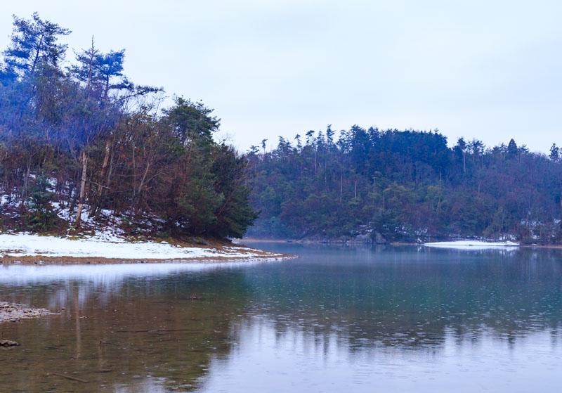 沢ノ池の雪