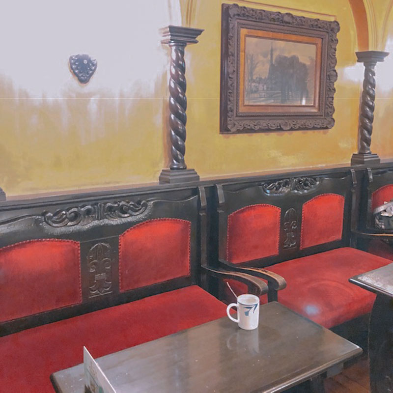 フランソア喫茶室の店内の様子