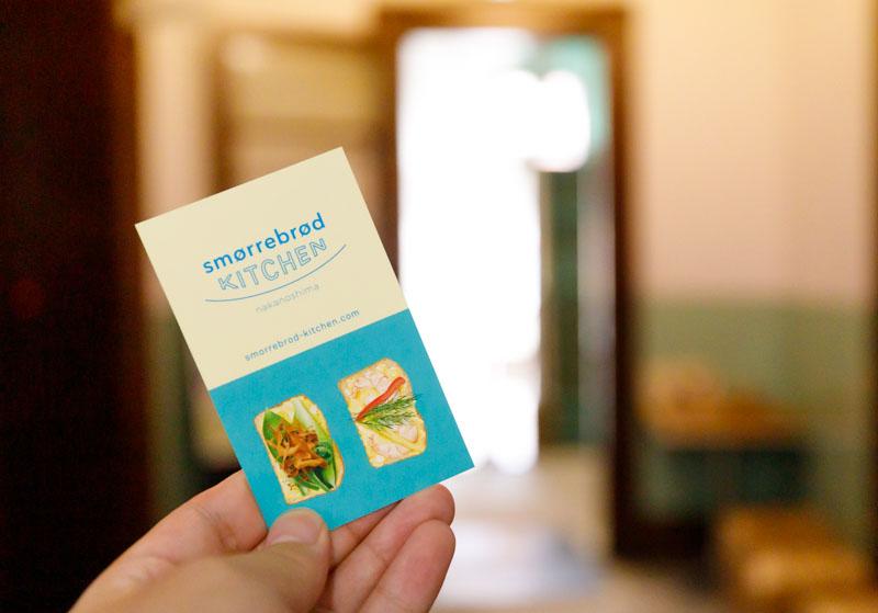 スモーブローキッチンは西日本初のスモーブロー専門店