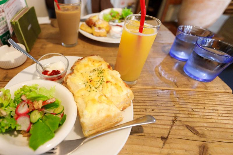 CafeTsuQushiのモーニング1