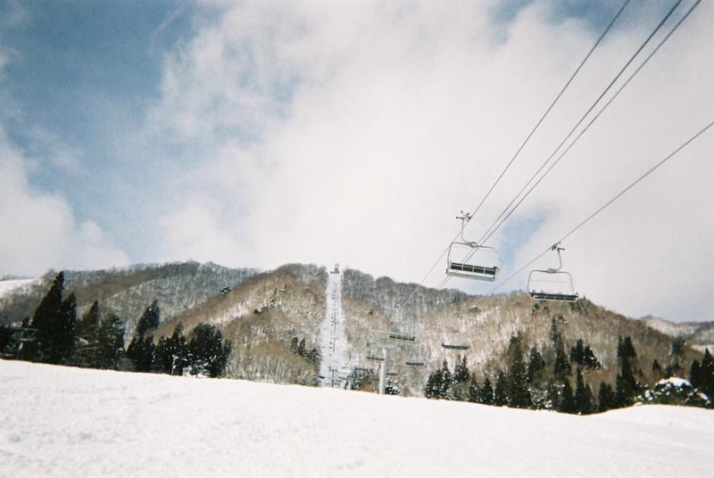 スノーボードで写ルンです3