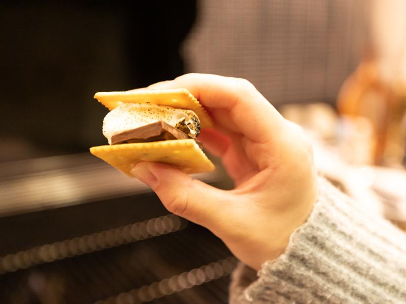 伊勢志摩エバーグレイズの夕食後のデザート