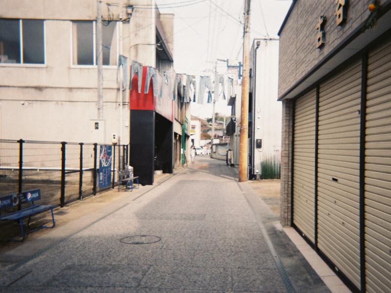 児島ジーンズストリートの写ルンです1
