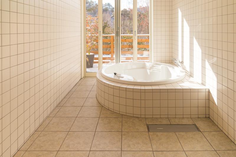 るり渓温泉GRAX-HANAREのお風呂