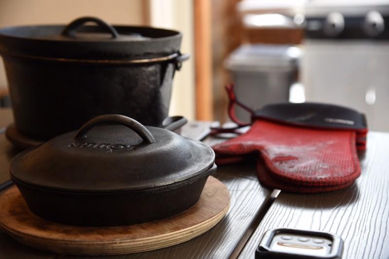 るり渓温泉grax-hanareのダッチオーブン