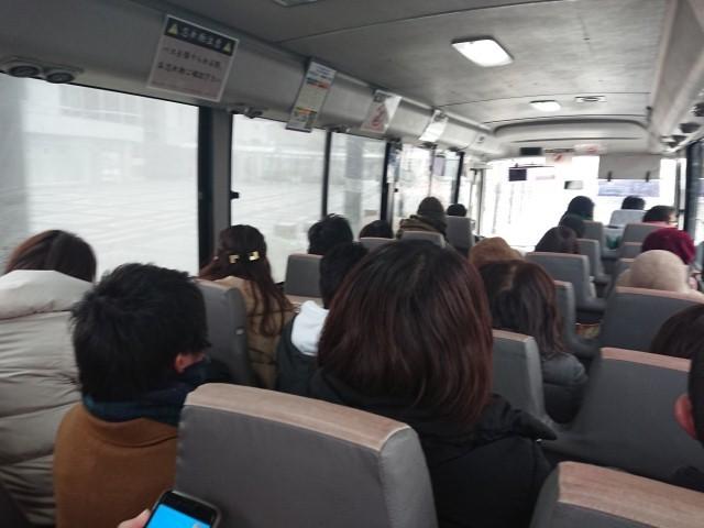 るり渓温泉への送迎バス