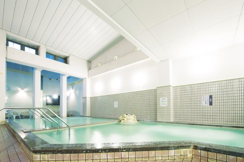 るり渓温泉の大浴場