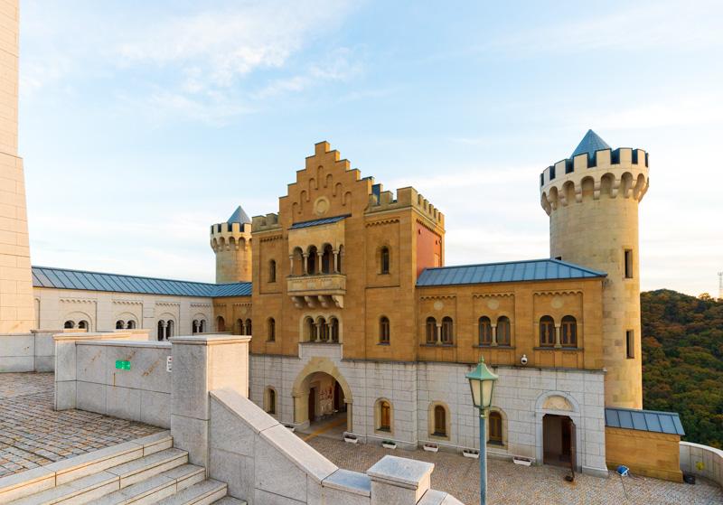 白鳥城の外観
