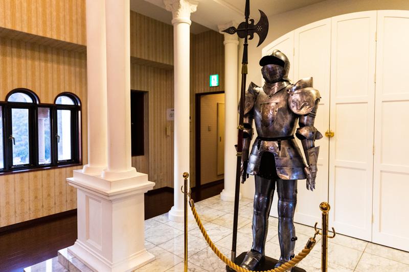 白鳥城の鎧