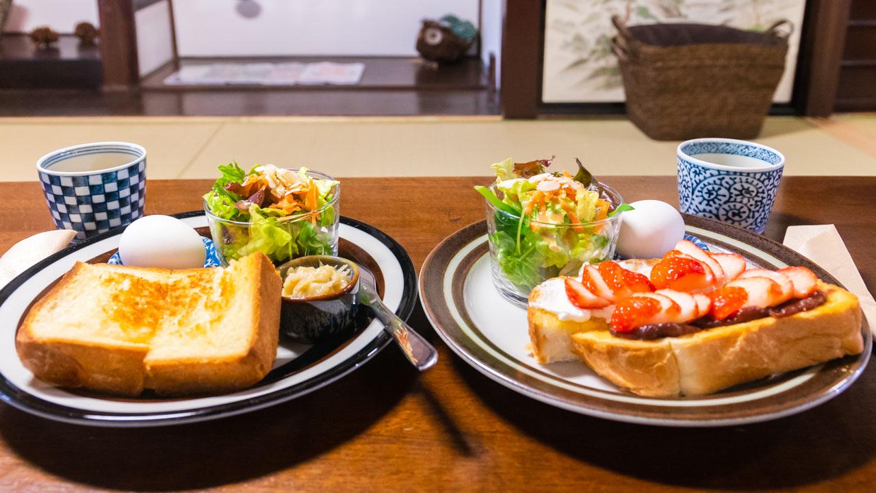 東福寺参拝前に京町家カフェでモーニング【Cafe January】