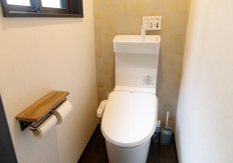 カフェジャニュアリーのトイレ