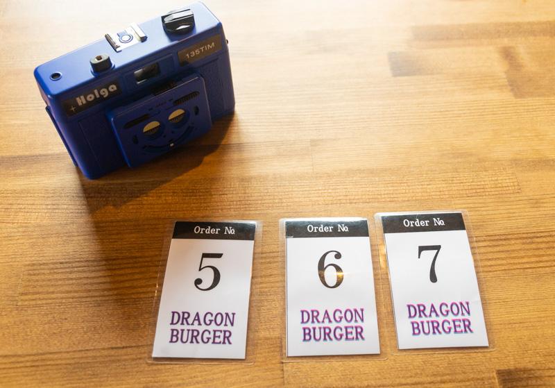 ドラゴンバーガーの番号札