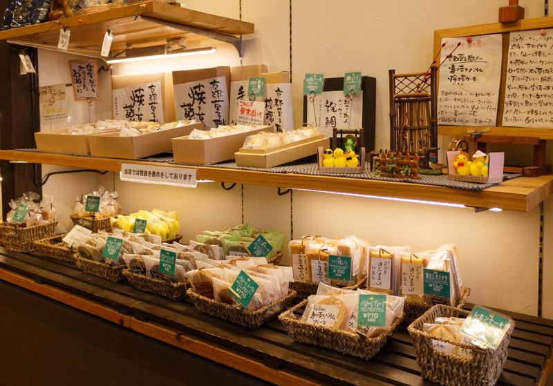 ゲベッケン泉涌寺店の焼き菓子