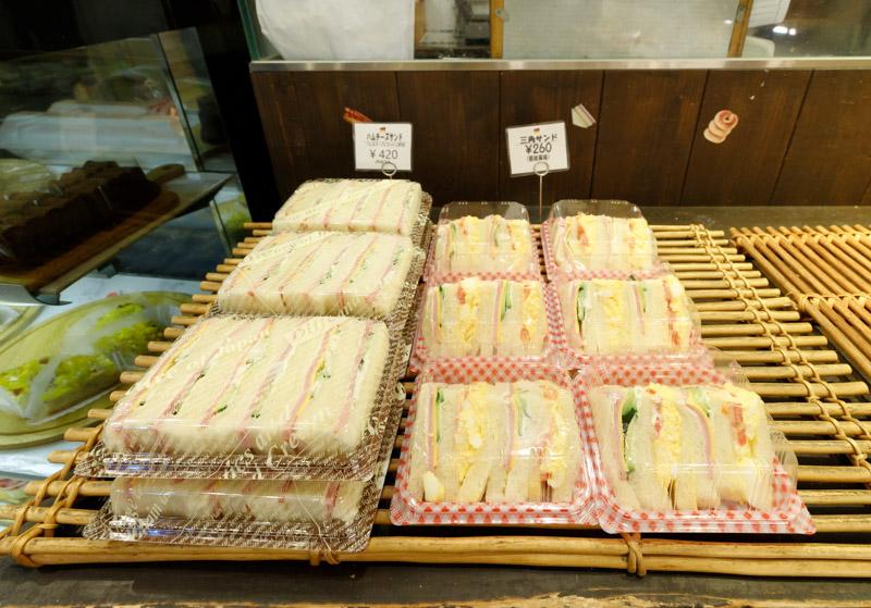 ゲベッケン泉涌寺店のサンドイッチ