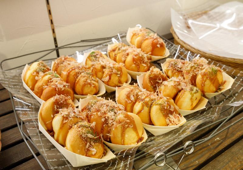 ゲベッケン泉涌寺店のたこ焼きパン