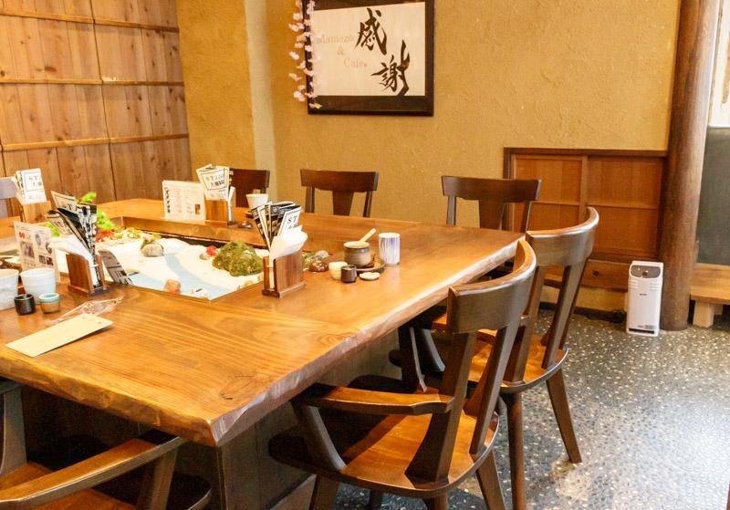 豆カフェmamezo-and-cafeの店内1