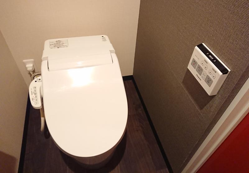 ハッピーバンズのトイレ