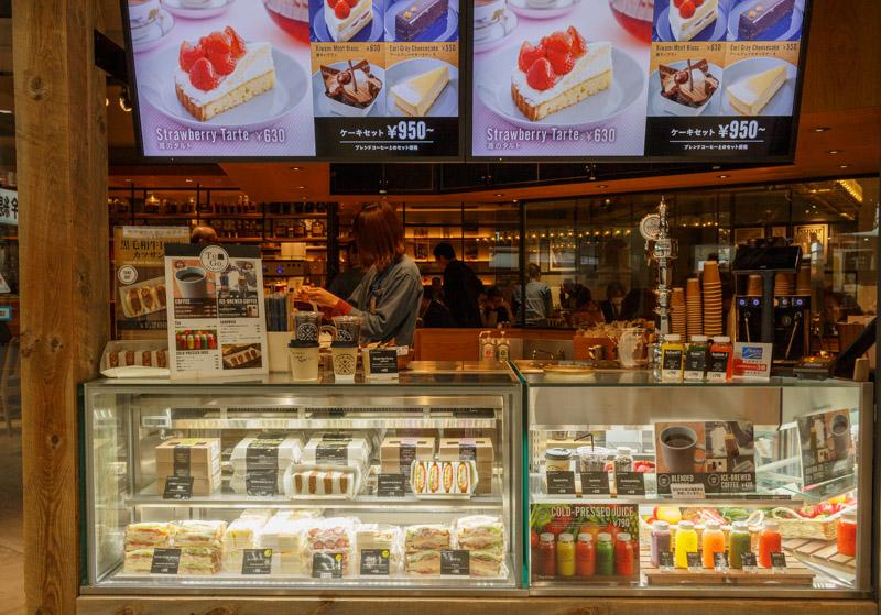 drip-x-cafe新大阪駅店のテイクアウト