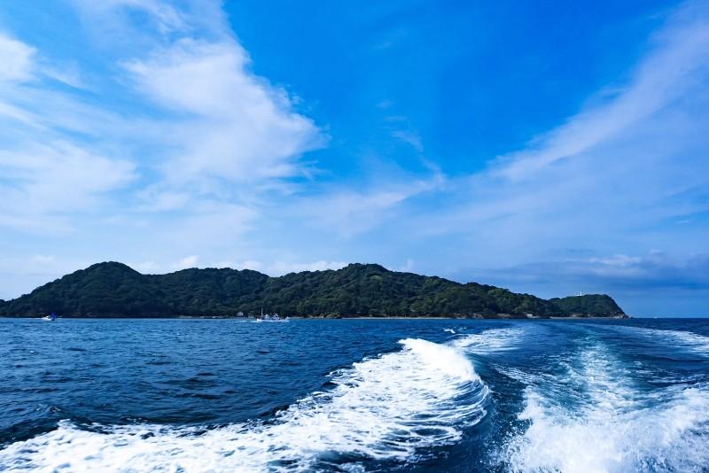 友ヶ島汽船からの景色