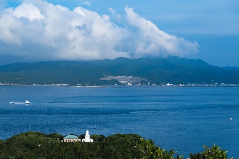 友ヶ島のタカノス展望台