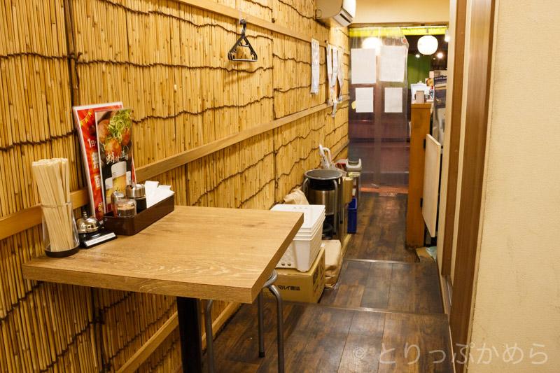 京都たこ壱東福寺駅前店の店内2