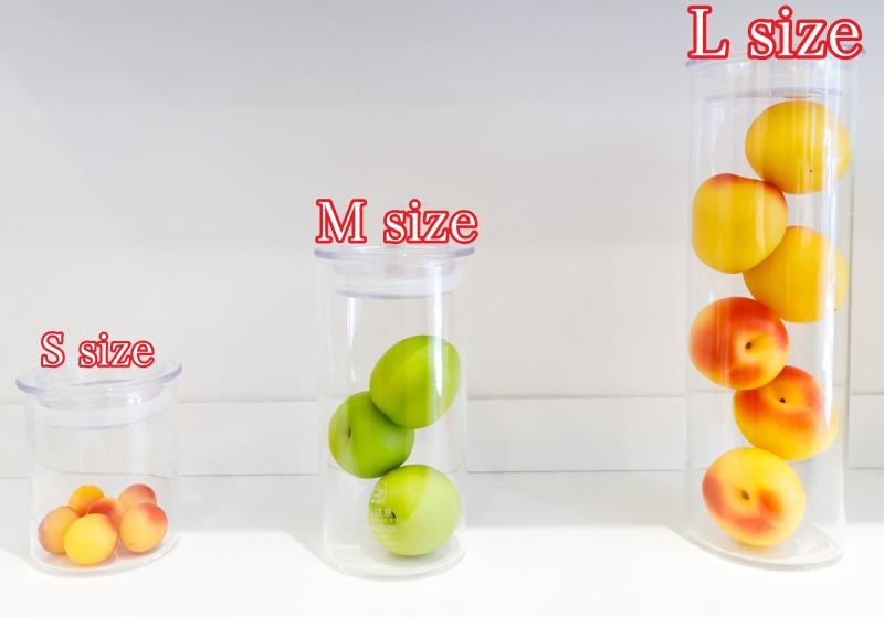 蝶矢のボトルサイズ
