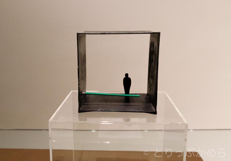 彫刻家の宮崎豊治さんの作品1