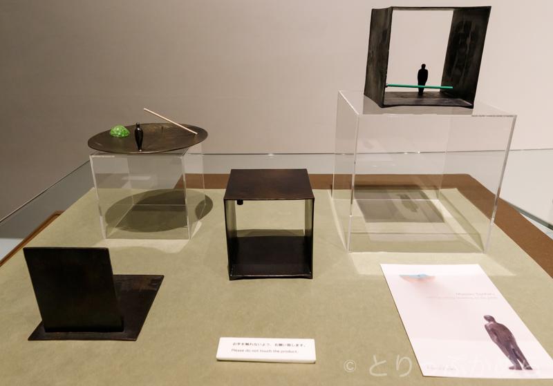 彫刻家の宮崎豊治さんの作品2