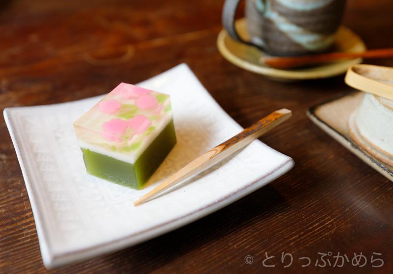 竹情荘の和菓子セット