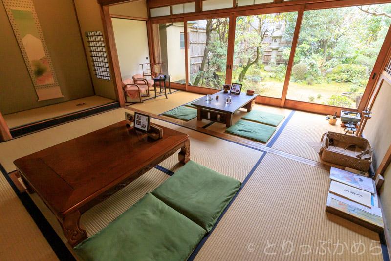 竹情荘の和室