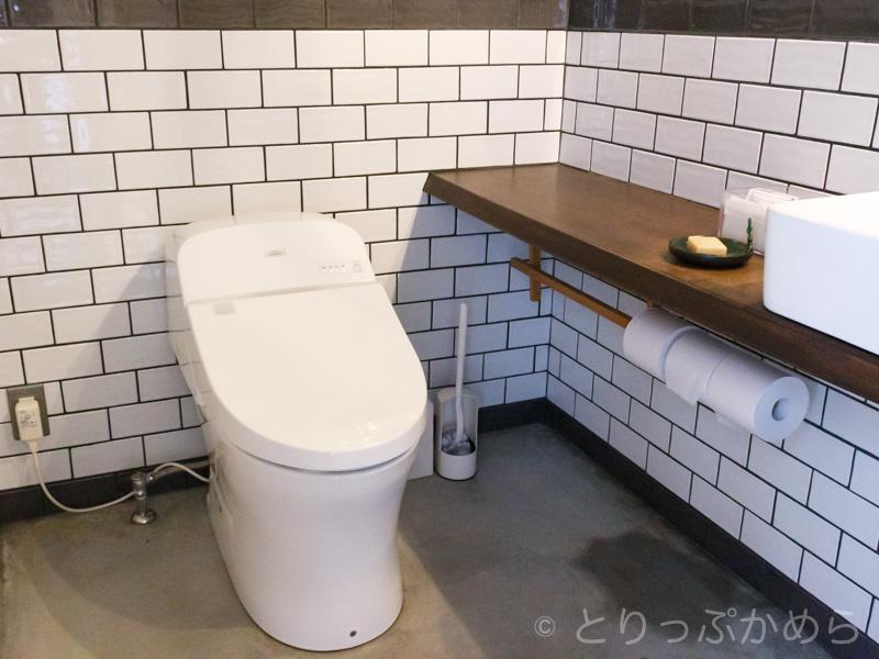 ノットカフェのトイレ