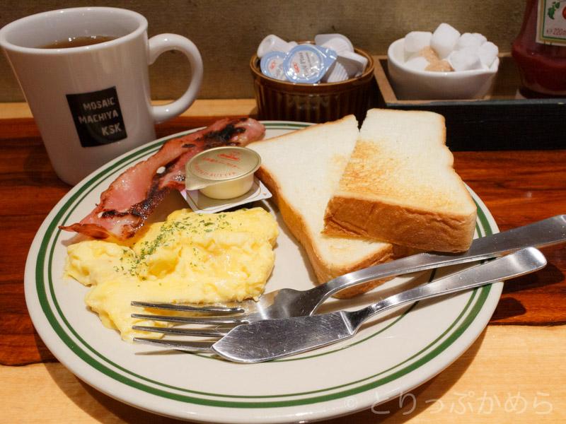 モゼイク町家の朝食