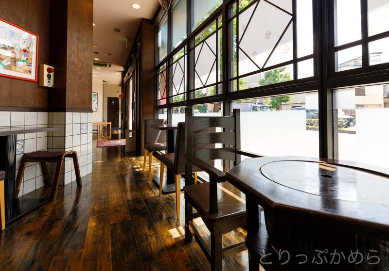 とうふカフェ藤野の店内1