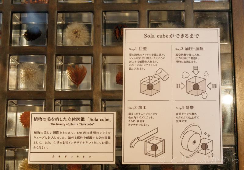 ウサギノネドコの「Sola cube」の作り方