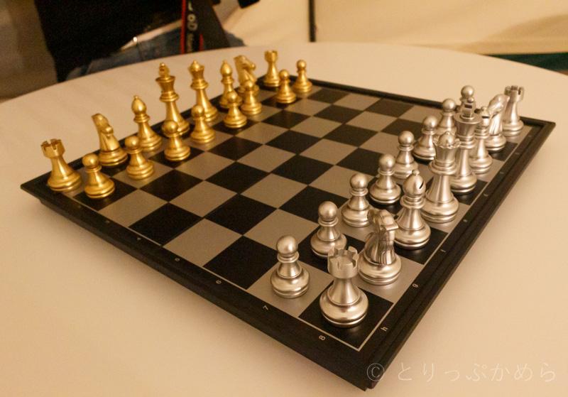 グランエレメントで無料レンタルしたチェス
