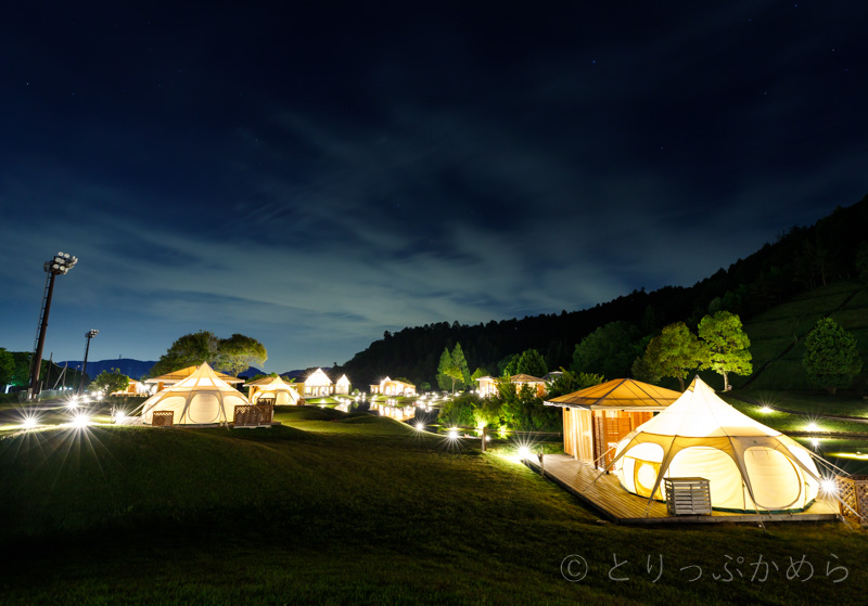 グランエレメントの夜の景色