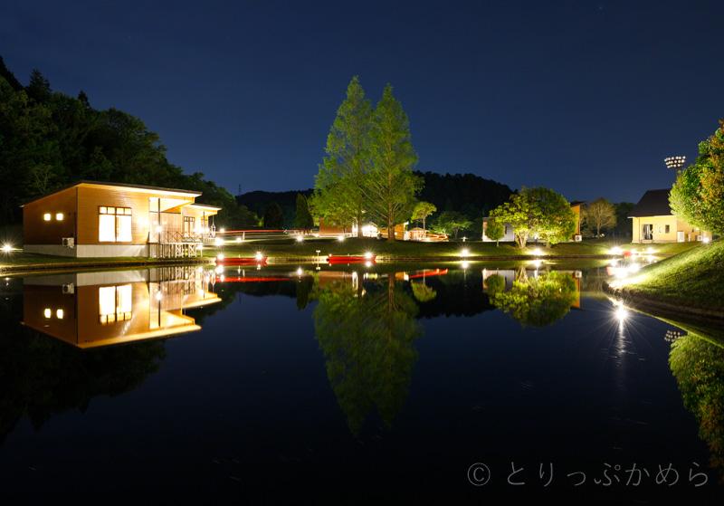 グランエレメントの夜の景色2