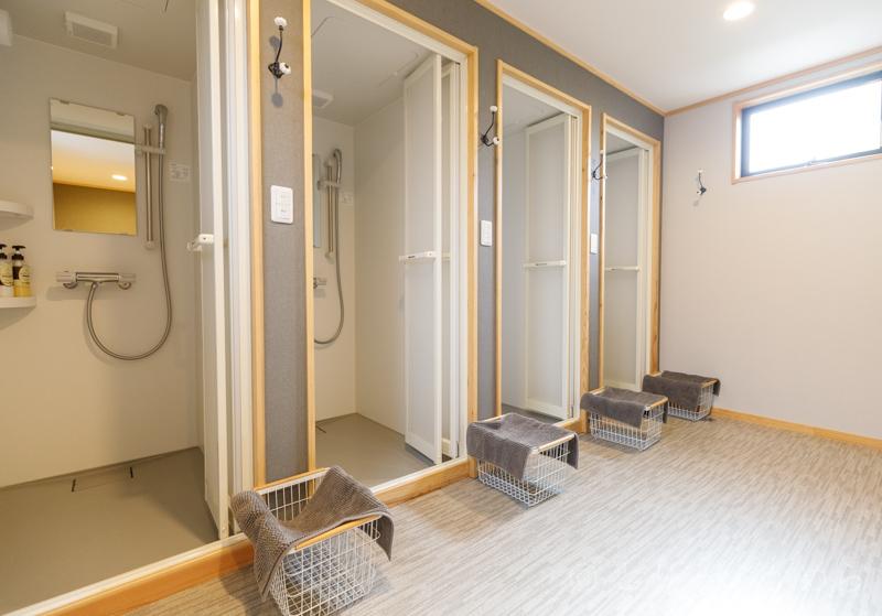 グランエレメントのシャワー室