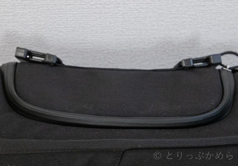 クロームのニコメッセンジャーバッグの完全防水