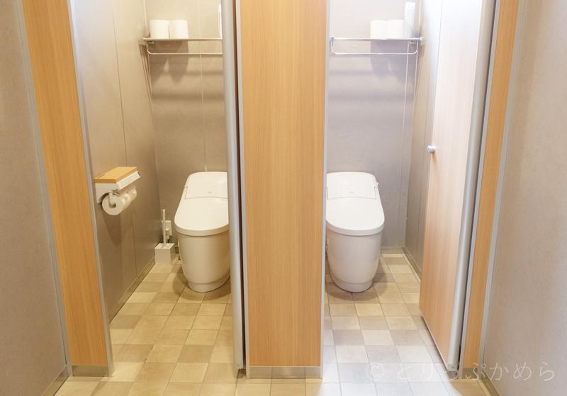 グランエレメントの女性トイレ