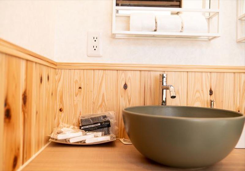 グランエレメントのヴィラの洗面台