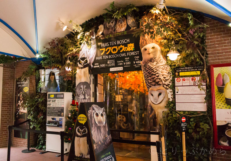 フクロウの森ハウステンボス店の外観