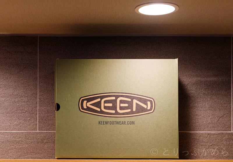 KEEN(キーン)の靴箱