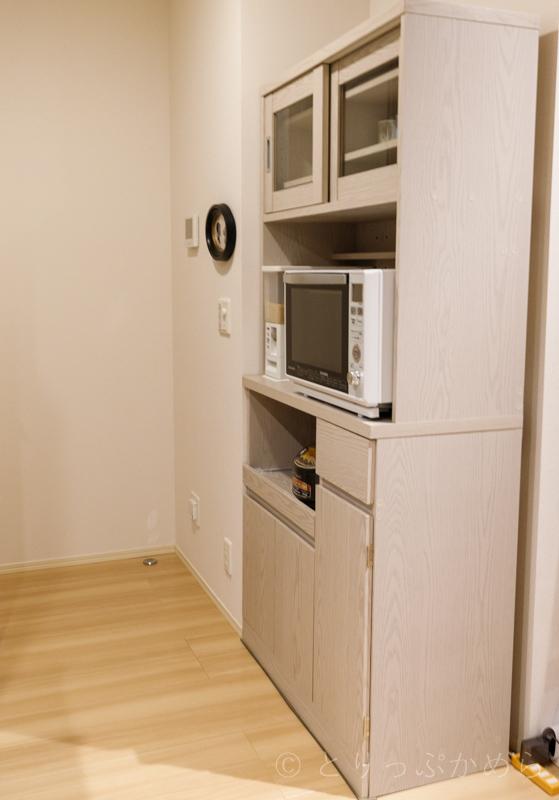 ロウヤのキッチンボードの全体像