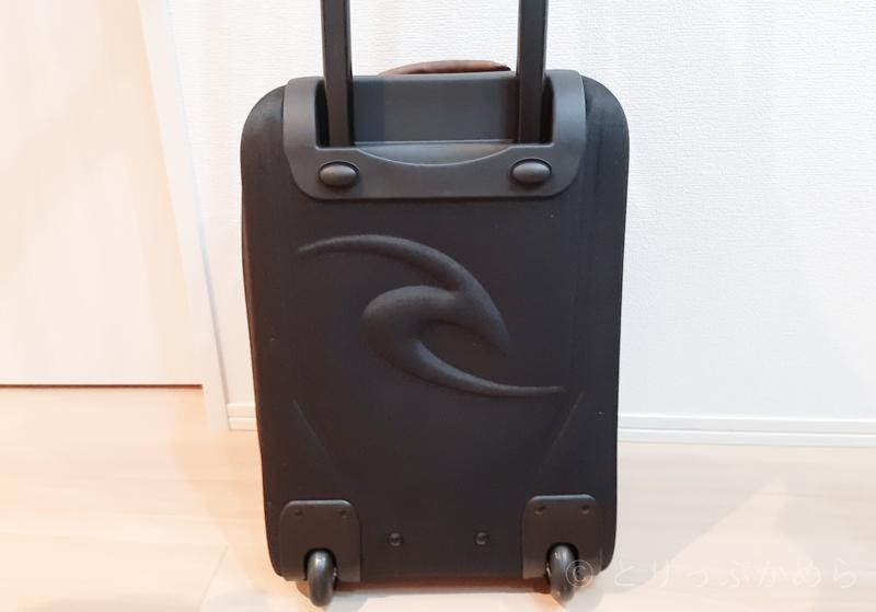 リップカールのキャリーバッグの背面