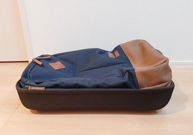 リップカールのキャリーバッグの幅2