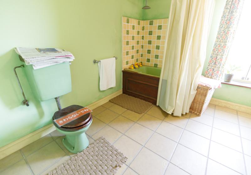 ひつじのショーンのお風呂とトイレ