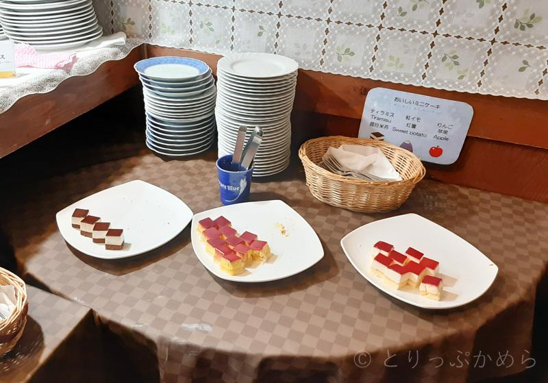 アジール奈良の朝食のデザート