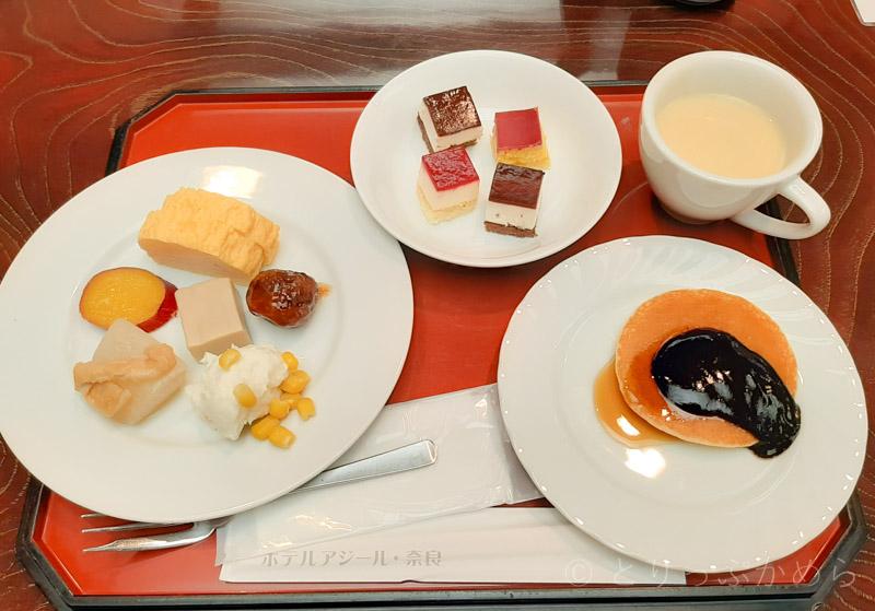 アジール奈良の朝食1