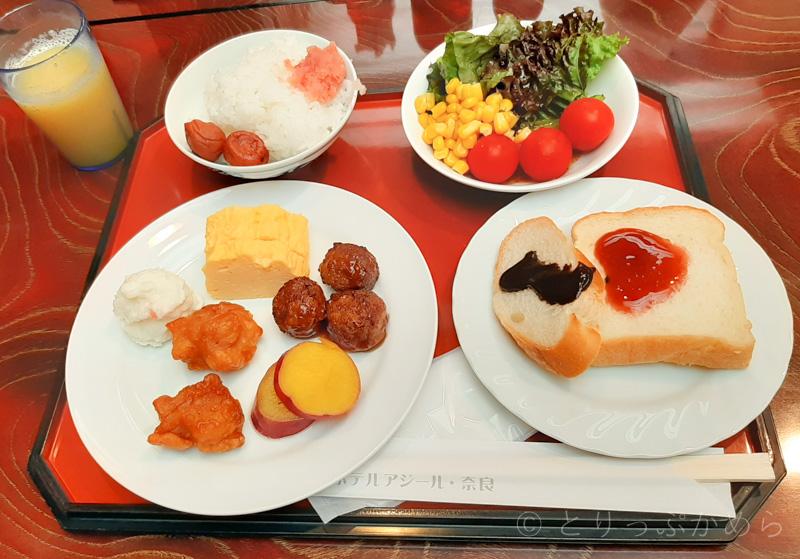 アジール奈良の朝食2